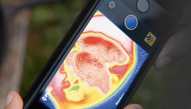 iPhone Thermal Imaging Accessory Kickstarter