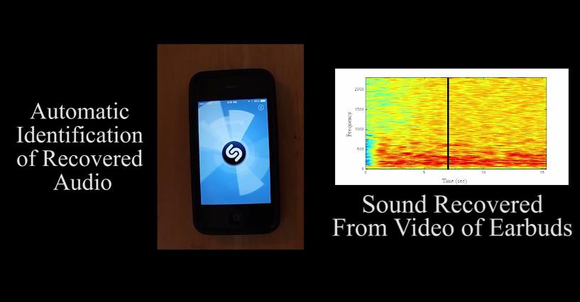 MIT Video Recording Audio Vibrations