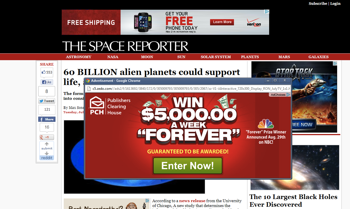 Who Invented The Pop-Up Ad