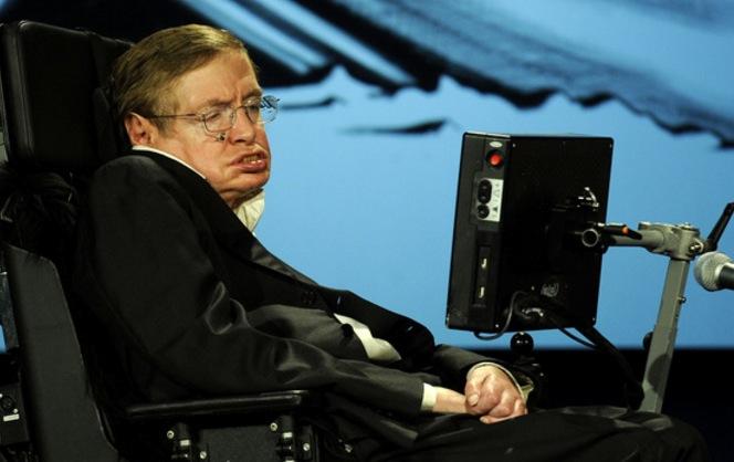 Stephen Hawking Ice Bucket Challenge