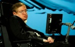 Stephen Hawking delivers the