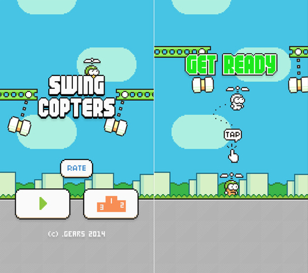 How To Beat Swing Copters