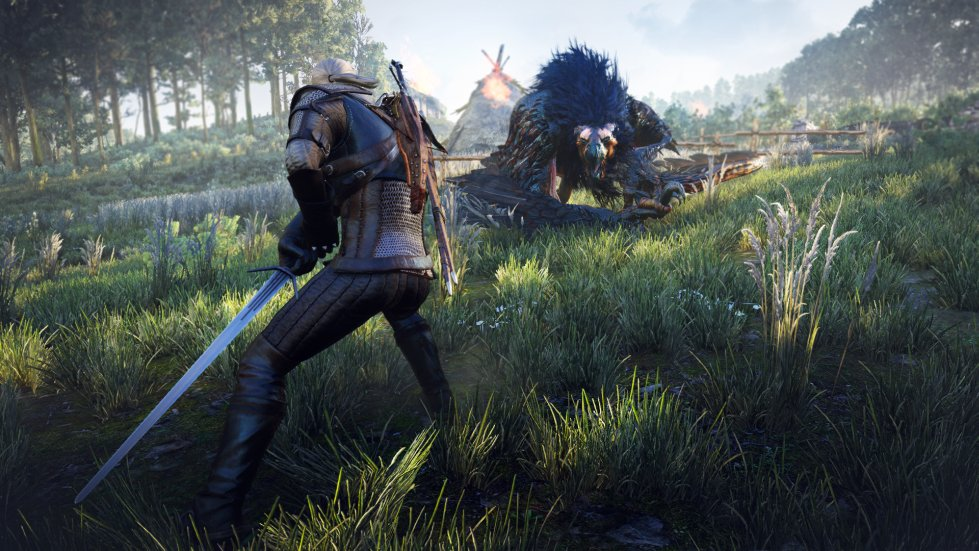 The Witcher 3 Gameplay Video