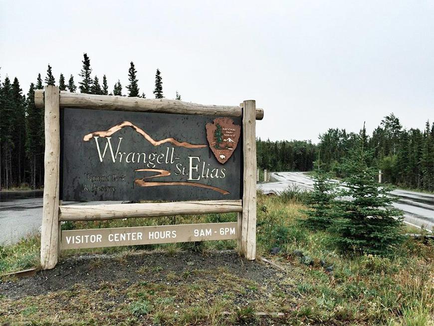 Wrangell St. Elias National Park Alaska