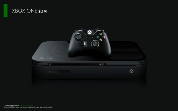Xbox One Slim Concept Xbox One concept desig...