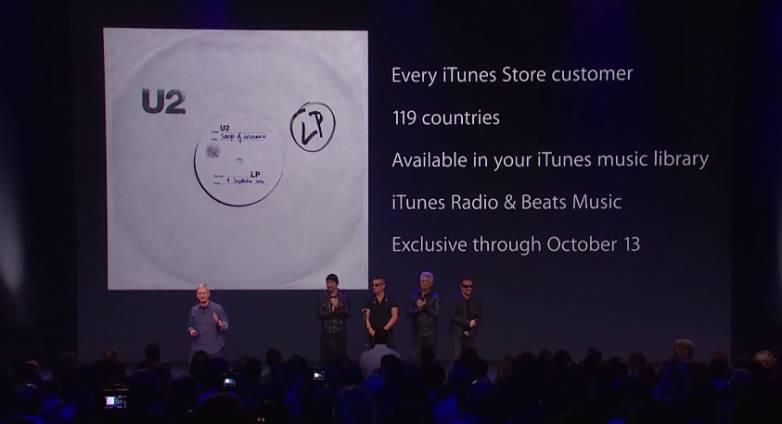 U2's Bono on Apple iTunes Music