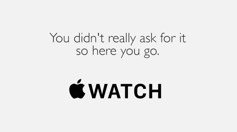 Apple Watch Parody Video