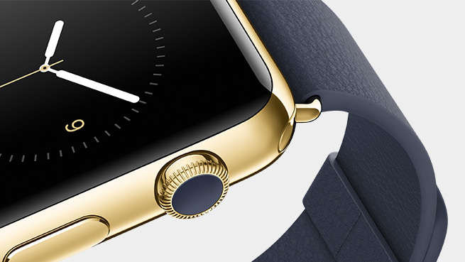 Apple Watch Stainless Steel and Gold