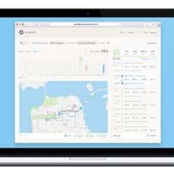 Automatic Trip Tracker Web Dashboard