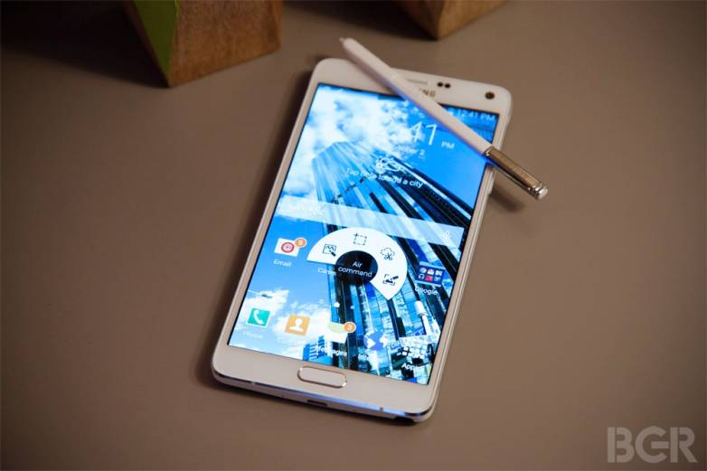 Samsung Galaxy Note 4 Display