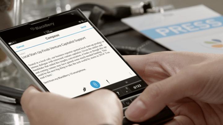 BlackBerry Smartphone Business 2016 Deadline