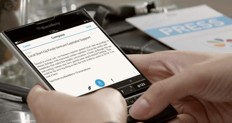 Blackberry Beats Android Windows Phone
