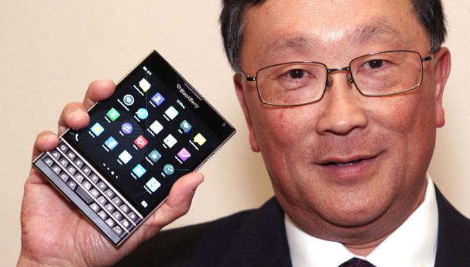 BlackBerry Passport Launch Sales