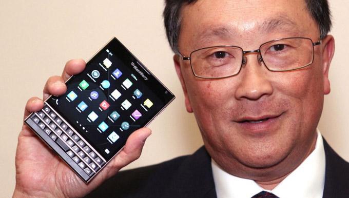 BlackBerry Passport Launch Sales