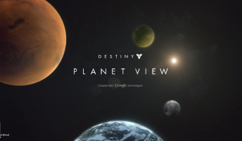 Destiny Planet View Google Maps