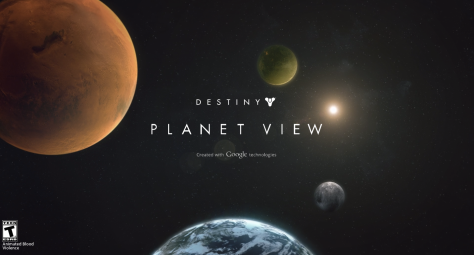 Destiny Planet View Google Maps