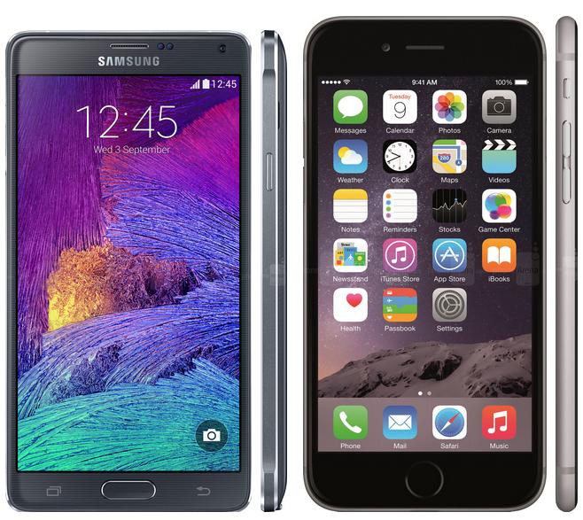 iPhone 7 vs Galaxy Note 4