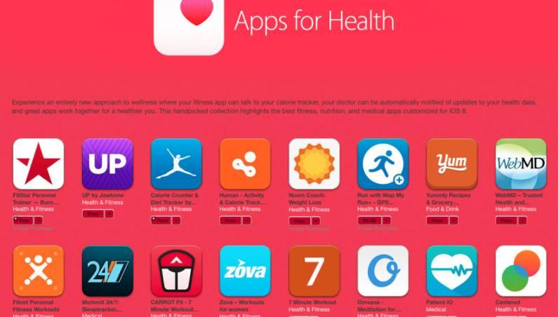 iOS 8 HealthKit Apps for Health