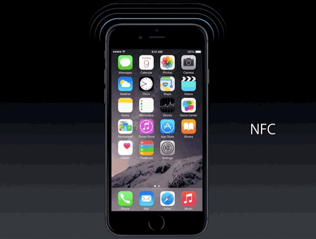 iPhone 6 NFC Chip