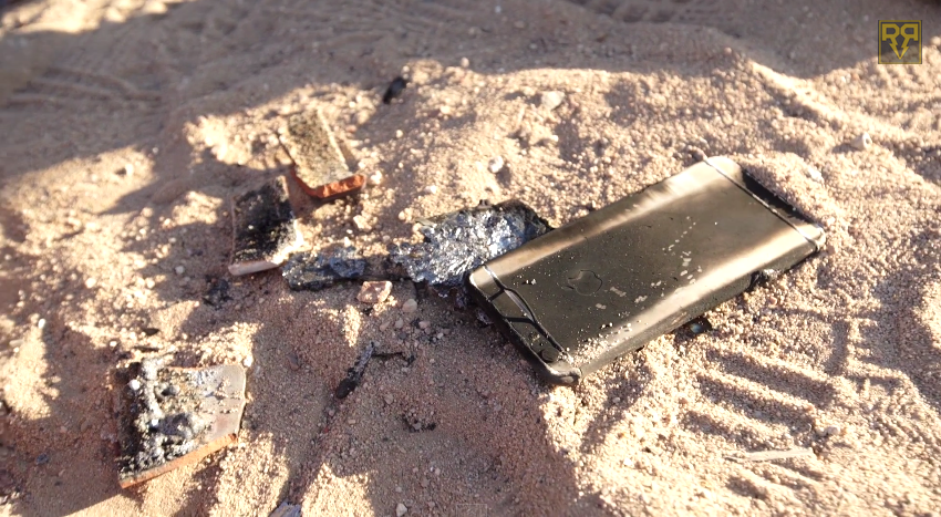 iPhone 6 Plus Video Thermite