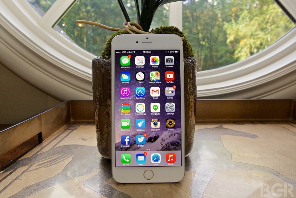 iPhone 6: iOS 8 Tracking