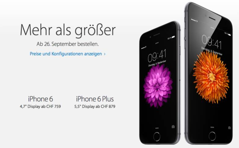 iPhone 6 and iPhone 6 Plus Release Date
