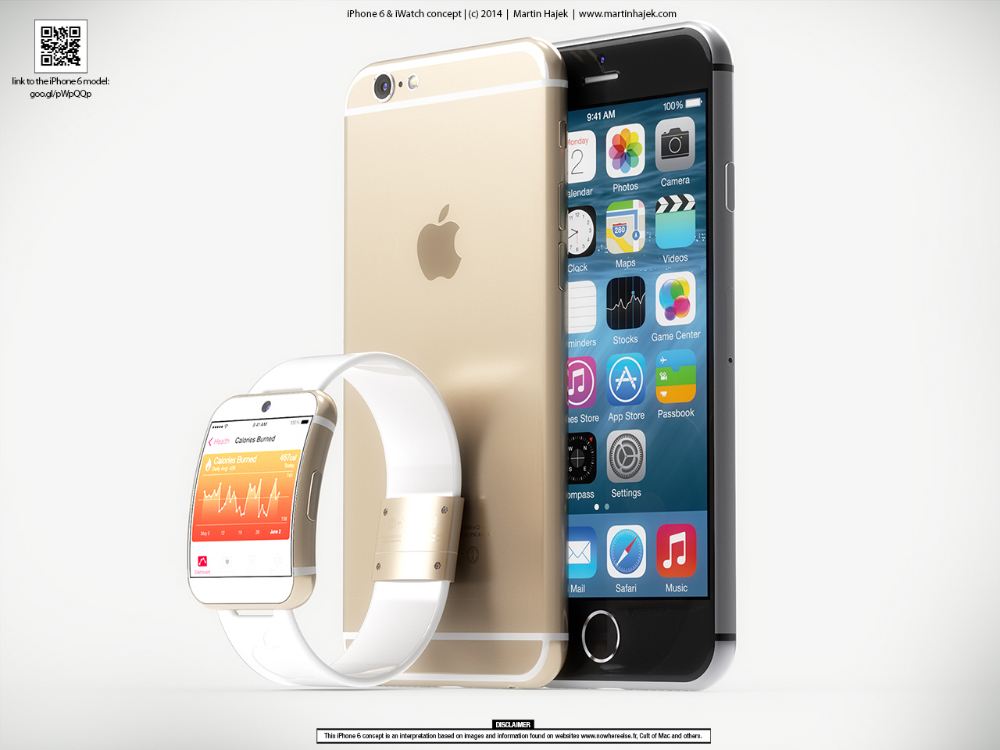 iWatch Rumors: Design Concept