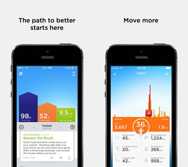 Jawbone UP iPhone App