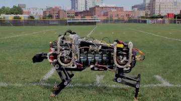 MIT Robot Cheetah Running