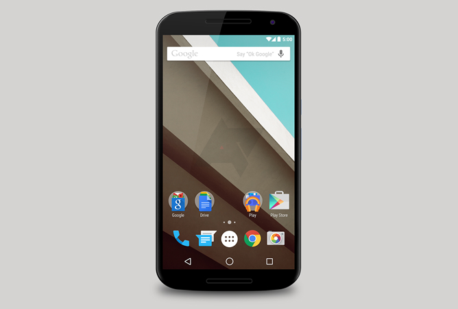 Android L Material Design Video Preview