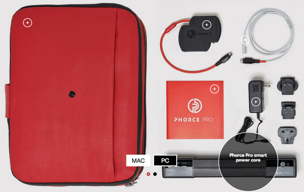 Phorce Pro 26,000mAh Battery Bag