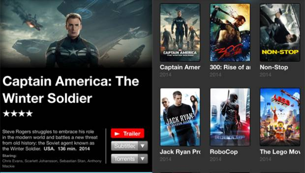Popcorn Time iOS App Mac Installer