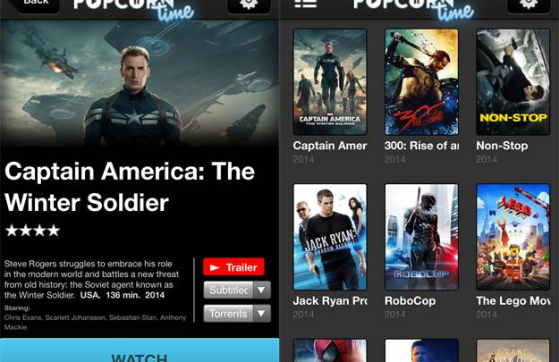 Popcorn Time: VPN, I2P and P2P