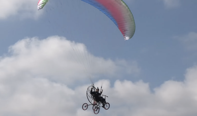Flying Bicycle Kickstarter Project