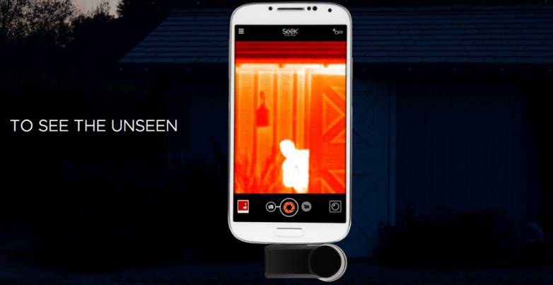 Seek Thermal Camera for iPhone and Android