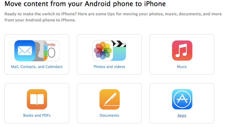 Switch From Android To iPhone