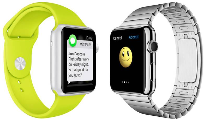 Apple Watch Specs: Display Size