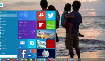 Windows 10 Start Menu Screens