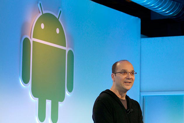 Google Andy Rubin Quits