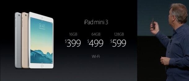 %name Apple announces the iPad mini 3 by Authcom, Nova Scotia\s Internet and Computing Solutions Provider in Kentville, Annapolis Valley