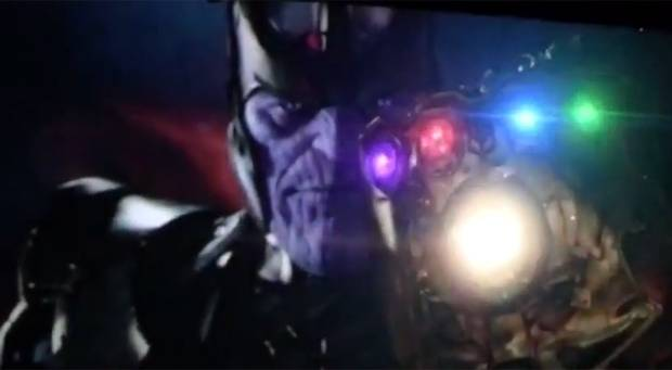 Teaser Marvel Thanos Infinity Gauntlet