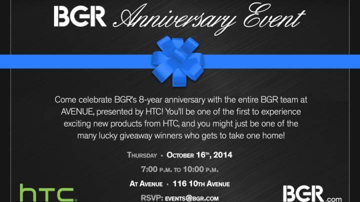 BGR Anniversary Event
