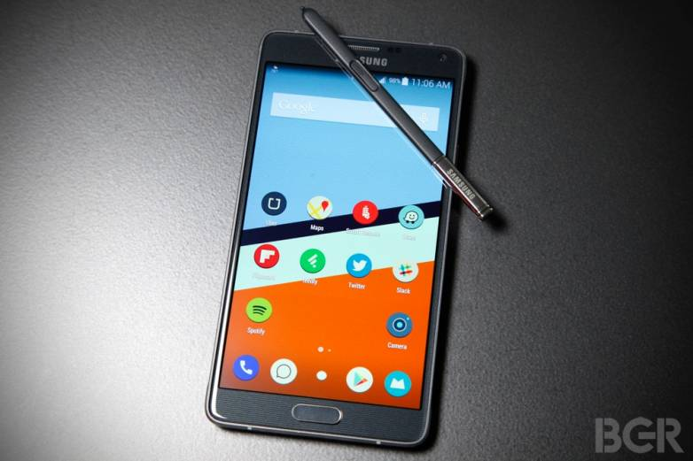 Galaxy Note 4 Android Lollipop Update