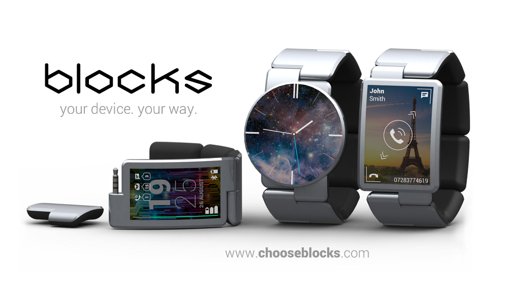 Blocks Modular Smartwatch Release Date