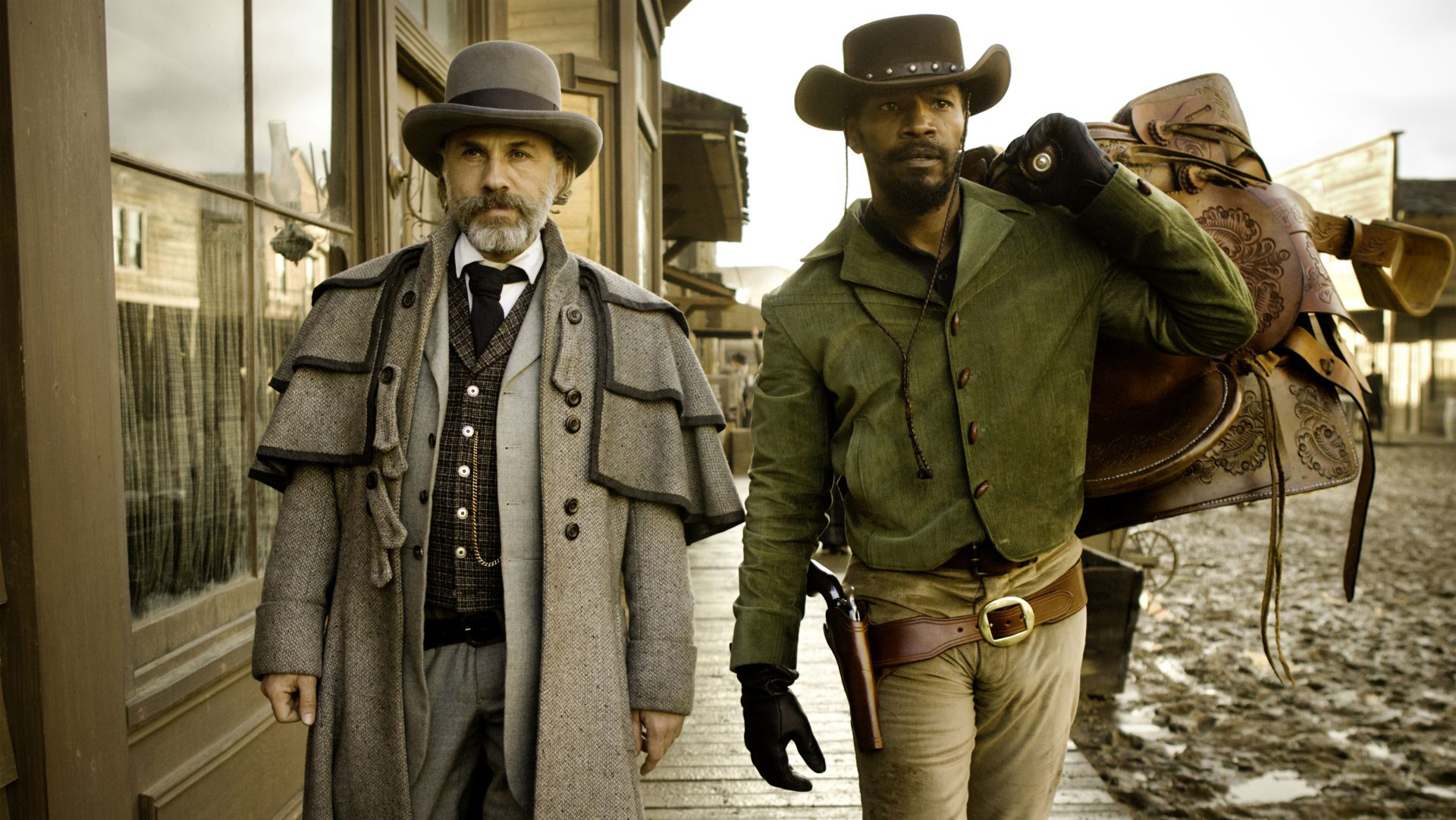 A Million Ways To Die In The West Set Pictures Django Unchained