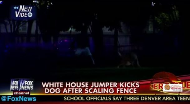%name The world's worst human being kicked a secret service dog after jumping the White House fence by Authcom, Nova Scotia\s Internet and Computing Solutions Provider in Kentville, Annapolis Valley