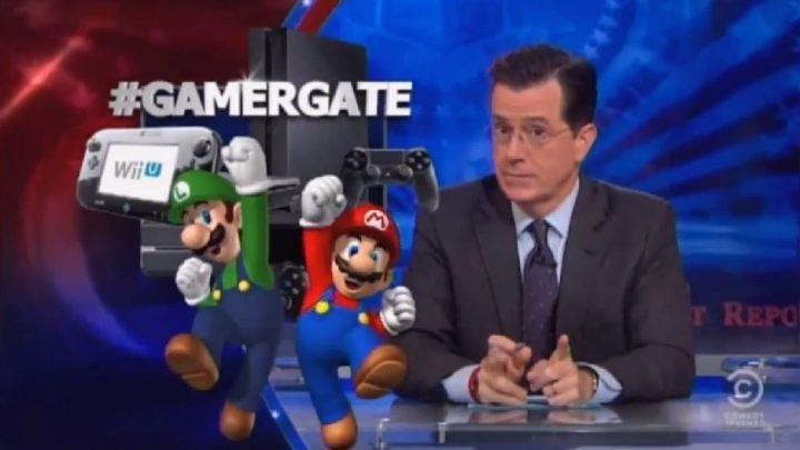 Stephen Colbert Targets Gamergate With Anita Sarkeesian