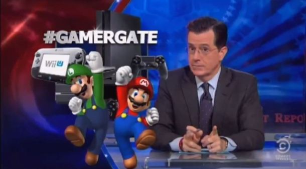 Video: Stephen Colbert targets Gamergate with the help of feminist Anita Sarkeesian