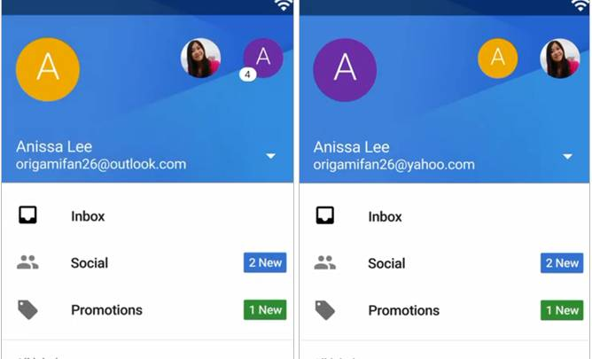 Gmail 5.0 for Android Lollipop Features