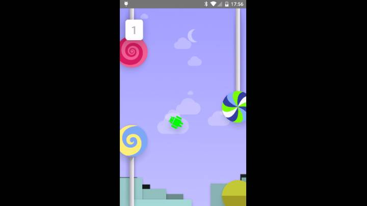Android 5.0 Lollipop Easter Egg